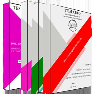 Temario Completo (1, 2 y 3) + Tomo 10 (test oficiales)