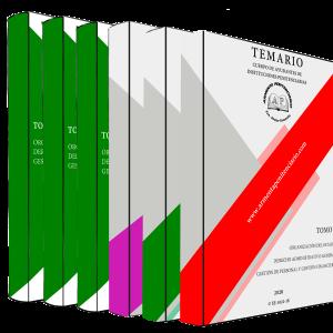 Temario (1, 2 y 3) + Test y Supuestos Monográficos (4, 5 y 6)
