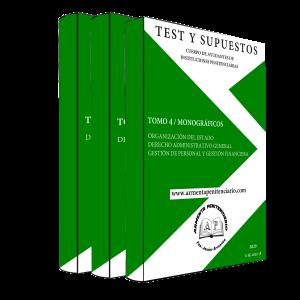 Tomos 4, 5 y 6 <br>Test y Supuestos Monográficos