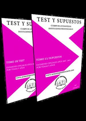 Tomo 11 Supuestos Oficiales y Tomo 10 / Test Oficiales